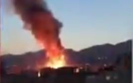 פיצוץ סמוך לטהרן