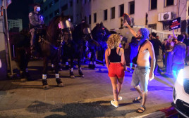 מחאת העצמאים: עימותים בין המפגינים לכוחות המשטרה