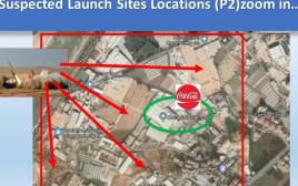 מכון מחקר ישראלי חשף את מיקומם של 28 אתרי שיגור טילים של חזבאללה בביירות, לבנון