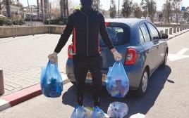 חלוקת סלי מזון לנזקקים
