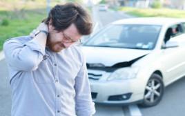 נפגע בתאונת דרכים