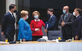 מנהיגי האיחוד האירופי בבריסל