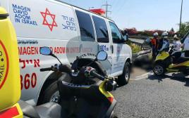 תאונת האופנוע בכביש 44