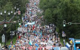 ההפגנות ברוסיה