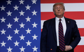 """נשיא ארה""""ב דונלד טראמפ"""