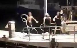"""תקיפת הלהט""""בים בנמל יפו"""