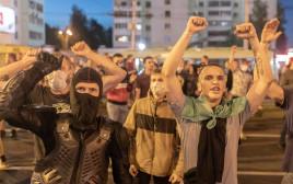 מפגינים בבלארוס