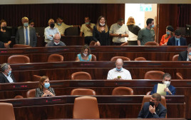 ההצבעה במליאת הכנסת על דחיית התקציב