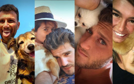 סלבס עם כלבים