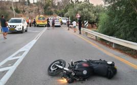 התאונה סמוך לכפר אוריה
