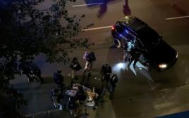 זירת הירי בפורטלנד