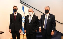 רוברט אובראיין, בנימין נתניהו, ג'ארד קושנר
