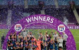 ליון, זכתה בליגת האלופות לנשים