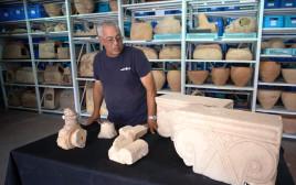 הפריטים הנדירים שהתגלו בחפירות