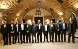 פגישת בכירי חמאס והג'יהאד האיסלאמי בלבנון