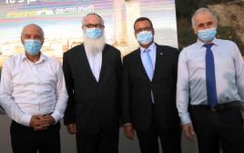 אשר כהן, משה ליאון, אדוארדו אלשטיין ואבי יעקובוביץ