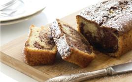 עוגת שיש שוקולד ושקדים