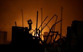 בית ספר יסודי שנשרף בקליפורניה