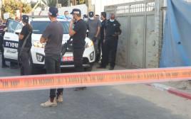 זירת אירוע חשד לרצח בלוד