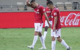 שחקני הפועל תל אביב מאוכזבים