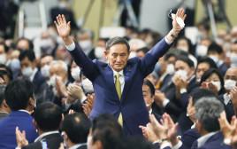 יושיהידה סוגה, המועמד לראשות ממשלת יפן
