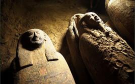 ארונות הקבורה שנמצאו במצרים