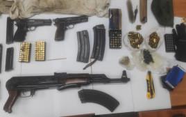 המשטרה עצרה אמלח בישובים ערבים