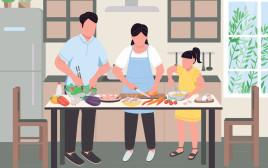 משפחה מבשלת