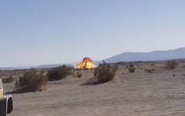 פיצוץ מטוס ה-F35