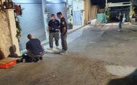 חוקרי המשטרה בכפר בענה