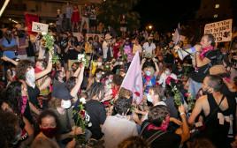 הפגנה נגד נתניהו בבלפור