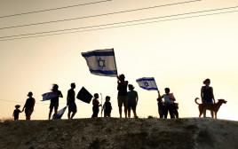 המחאה נגד נתניהו בנערן, בקעת הירדן
