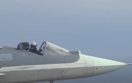 המטוס הרוסי ללא כיסוי בתא הטייס