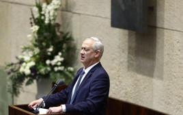 גנץ בדיונים על ההסכם עם איחוד האמירויות