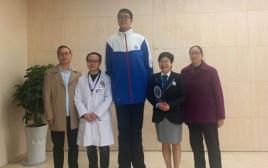 צ'יאויו, הנער הגבוה בעולם