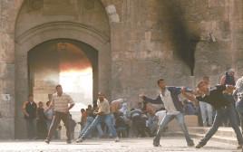 מהומות אוקטובר 2000 נתי שוחט, פלאש 90