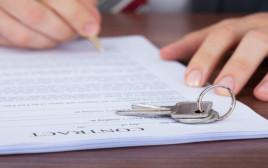 חתימת הסכם שכירות