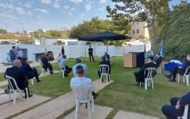 פגישת נתניהו וראשי רשויות ביהודה ושומרון