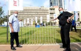 טקס פתיחת גן ההסתדרות בתל אביב