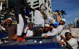 הפגנות בבנגלדש נגד מקרון