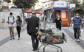 הומלס בירושלים חסר בית