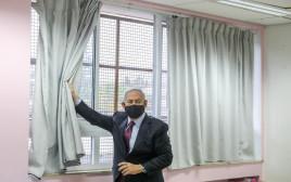נתניהו בבית ספר בירושלים