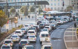 עומס בתנועה בירושלים