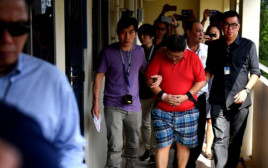 הרוצח, טיאו גים הנג נעצר בבית המשפט