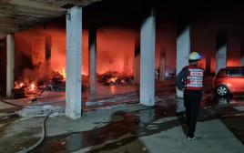 שריפה שפרצה בירושלים