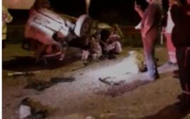 התאונה בכביש 60