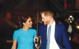 הנסיך הארי ורעייתו מייגן מרקל