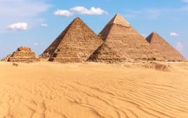 פירמידה במצרים, אילוסטרציה