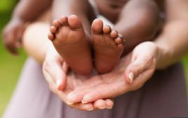 אם ותינוק, אילוסטרציה