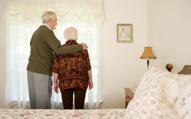 זוג קשישים, אילוסטרציה